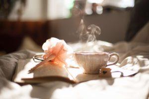 朝のコーヒー風景