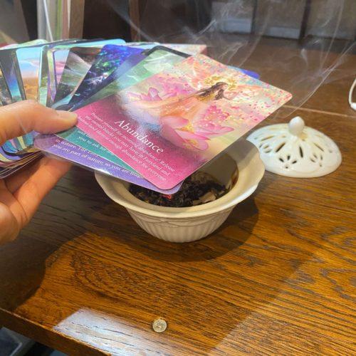 オラクルカードの浄化